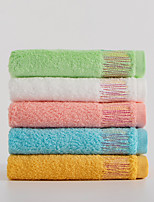 cheap -1 Pc Cotton Blend Hand Kitchen Shower Towel(Set) Machine Washable Super Soft Highly Absorbent Quick Dry For Bathroom Hotel Spa Solid 35x74cm