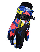 cheap -Ski Gloves Snow Gloves for Boys and Girls Kids Thermal Warm Waterproof Windproof Woven TPU Full Finger Gloves Snowsports for Cold Weather Winter Skiing Snowsports Snowboarding