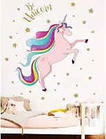 cheap -children's unicorn pattern wall sticker
