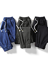 cheap -Men's Work Pants Hiking Cargo Pants Track Pants Drawstring Military Winter Summer Outdoor Windproof Ripstop Breathable Multi Pockets Cotton Bottoms Dark Grey Blue Black Camping / Hiking / Caving
