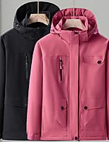 cheap -Women's Hiking Down Jacket Hiking 3-in-1 Jackets Ski Jacket Winter Outdoor Thermal Warm Waterproof Windproof Lightweight Outerwear Windbreaker Trench Coat Skiing Fishing Climbing Female khaki Female