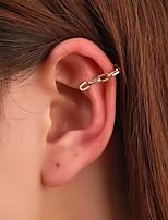 cheap -Women's Earrings Link / Chain Fashion Stylish Simple Earrings Jewelry Silver / Gold For Street