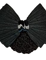 cheap -5 Pcs/set Stewardess Hair Tie Hair Accessories Professional Head Flower Lady Hotel Nurse Bank Net Bag Bow Tie Hair Net Headwear