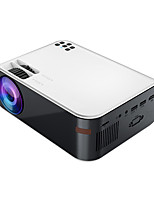 cheap -W18 LED Projector Auto focus WIFI Projector Keystone Correction 480x360 3000 lm Android6.0 Compatible with HDMI USB TF VGA
