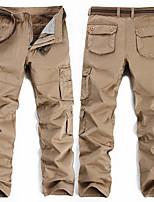 cheap -Men's Work Pants Hiking Cargo Pants Tactical Pants Outdoor Ripstop Breathable Multi Pockets Sweat wicking Pants / Trousers Bottoms ArmyGreen khaki Black Fishing Climbing Running 28 29 30 31 32