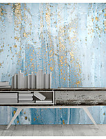 cheap -Mural Wallpaper Wall Sticker Covering Print Peel and Stick Removable Self Adhesive Art Blue PVC / Vinyl Home Decor