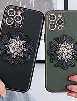 cheap -Phone Case For Apple Back Cover iPhone 12 Pro Max 11 SE 2020 X XR XS Max 8 7 Shockproof Dustproof Graphic PU Leather
