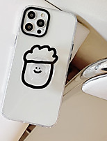 cheap -Phone Case For Apple Back Cover iPhone 12 Pro Max 11 SE 2020 X XR XS Max 8 7 Shockproof Dustproof with Stand Cartoon Transparent TPU