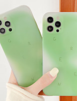cheap -Phone Case For Apple Back Cover iPhone 12 Pro Max 11 SE 2020 X XR XS Max Shockproof Dustproof Color Gradient TPU