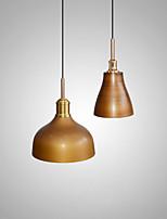 cheap -LED Pendant Light 16/28 cm Island Design Pendant Light Metal Vintage Style Metal Painted Finishes Vintage Country 220-240V