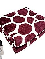 cheap -electric blanket heated flannel blanket with auto-off timer settings,lightweight cozy soft electric heated winter blanket,fast heating for office study sitting room,machine washable