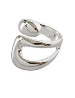 cheap -Ring Silver Alloy Blessed Stylish Artistic Simple 1pc One Size / Women's / Open Cuff Ring