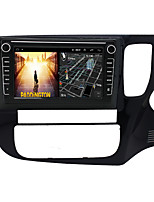 cheap -Android 9.0 Autoradio Car Navigation Stereo Multimedia Player GPS Radio 8 inch IPS Touch Screen for Mitsubishi outlander 2013-2018 1G Ram 32G ROM Support iOS System Carplay Right