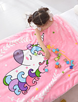 cheap -Blankets Throws, Cartoon Polyester Warmer Soft Comfy Blankets