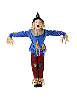 cheap -Burlesque Clown Movie / TV Theme Costumes Pennywise Cosplay Costume Kid's Boys' Halloween Halloween Festival / Holiday Terylene Blue Easy Carnival Costumes Solid Color / Top / Pants / Hat / Top