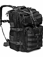 cheap -tactical backpack 50l military backpack large rucksack 3 day assault pack water-resistant tactical bag molle backpack for men women travel, trekking, hunting, hiking, fishing black
