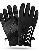 cheap -Ski Gloves Snow Gloves for Women Men Touchscreen Thermal Warm Waterproof PU Leather Full Finger Gloves Snowsports for Cold Weather Winter Skiing Snowboarding Cycling