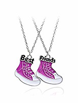 cheap -best friend pendant necklaces for 2 bff friendship charms jewelry birthday gift for women shoes