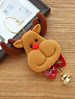 cheap -Christmas Ornaments Old Man Dolls Hanging Bells Pendants Christmas Tree Pendants