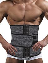 cheap -Men's Thermal Neoprene Body Shaper Waist Trainer Belt Slimming Corset Waist Support Sweat Cincher Underwear Modeling Strap