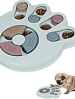 cheap -Dog Puzzle Slow Feeder ToyPuppy Treat Dispenser Slow Feeder Bowl Dog ToyDog Brain Games Feeder with Non-Slip Improve IQ Puzzle Bowl for Puppy