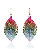 cheap -Women's Drop Earrings Classic Stylish Cute Earrings Jewelry Rainbow color For Street Gift 1 Pair
