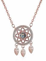 cheap -custom photo projective necklace, dream_catcher necklace i love you necklace 100 languages that says i love you in 100 languages locket necklace pendant for women men