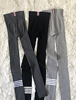 cheap -Micro Pressure Socks Compression Socks Thinner Buttocks Four-bar Legging Tights Sports Running Pressure Pants Nine-point Pants Plus Velvet