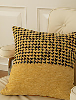 cheap -PillowCase Northern Europe Thicken Classic Houndstooth Fashion PillowCase Backrest Modern Sample Room Cushion Cover Living Room Bedroom Sofa Cushion Cover