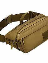 cheap -nylon waist bag running fanny pack for men women outdoor travel tactical sports camping hiking hunting fishing portable handbag belt bum pouch daypack khaki