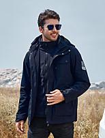cheap -Men's Hiking 3-in-1 Jackets Ski Jacket Hiking Fleece Jacket Polar Fleece Winter Outdoor Camo Thermal Warm Windproof Quick Dry Lightweight Outerwear Winter Jacket Trench Coat Skiing Ski / Snowboard