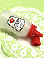 cheap -2PCS Squeeze Sauce Bottle Plastic Pointed Squeeze Bottle Oil Can Seasoning Salad Ketchup Bottle Jam Bottle Bento Seasoning