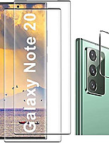 cheap -[2+2 pack] galaxy note 20 screen protector, hd clear tempered glass, ultrasonic fingerprint support, 3d curved, scratch resistant, bubble-free for galaxy note 20 5g glass screen protector