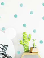 cheap -Shapes / Floral&Plants Wall Stickers Bedroom / Living Room Removable PVC Home Decoration Wall Decal 1pc 20*30CM