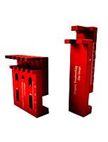 cheap -Woodworking Joint Saw Thickness Gauge Feeler Gauge Gap Gauge Red