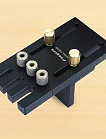 cheap -Woodworking Tool Set Black Round Wood Tenon Punch 3 in 1 Hole Opener Locator Woodworking Tool