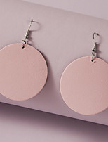 cheap -Women's Earrings Geometrical Stylish Simple Gothic Elegant Romantic Earrings Jewelry Blushing Pink For Party Evening Date Beach Promise Festival 1 Pair