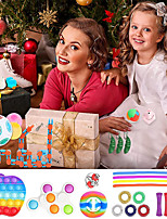 cheap -34 pcs Fidget Toys Pack Anti Stress Toy Set Marble Relief Gift for Adults Children Sensory Antistress Relief Figet Toys Box