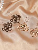 cheap -Women's Earrings Geometrical Fish Stylish Earrings Jewelry Gold / Coffee For Street