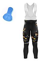 cheap -21Grams Men's Cycling Bib Tights Spandex Bike Bib Tights Quick Dry Moisture Wicking Sports Animal Black Mountain Bike MTB Road Bike Cycling Clothing Apparel Bike Wear / Athleisure