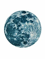 cheap -atmneris glow in the dark moon decals decor for ceiling stickers decoration perfect for kids bedroom bedding room gifts,11.81 inch in diameter