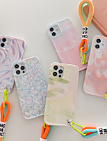 cheap -Phone Case For Apple Back Cover iPhone 12 Pro Max 11 SE 2020 X XR XS Max 8 7 Waterproof Shockproof Color Gradient Graphic TPU