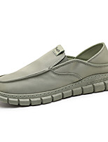cheap -Men's Loafers & Slip-Ons Classic Chinoiserie Beach Daily Elastic Fabric Non-slipping Wear Proof Green Black Beige Spring