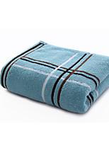 cheap -1 Pc 100% Cotton Premium Ring Spun Hand Kitchen Shower Towel(Set) Machine Washable Super Soft Highly Absorbent Quick Dry For Bathroom Hotel Spa Plaid  34*75cm