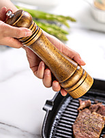 cheap -Pepper Grinder Seasoning Bottle Spice Jar Grinding Bottle Kitchen Storage