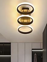 cheap -LED Ceiling Light 34.5 52.5 cm Cluster Design Square Line Design Flush Mount Lights Aluminum Vintage Style Metal Linear Painted Finishes LED Vintage 220-240V