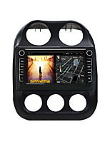 cheap -Android 9.0 Autoradio Car Navigation Stereo Multimedia Player GPS Radio 8 inch IPS Touch Screen for Jeep Compass 2010-2016 1G Ram 32G ROM Support iOS System Carplay