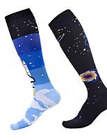 cheap -Comfort Sport Women's All Socks Solid Colored Stockings Socks Medium Sport Black 1 Pair / Sport Socks / Athletic Socks / Casual Socks / Dress & Trouser Socks