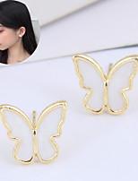 cheap -Women's Stud Earrings Earrings Fashion Cute Sweet Earrings Jewelry Gold For Gift Date Beach Festival 1 Pair