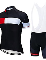 cheap -cycling jersey for mens, gel padded bib pants cycling suit bicycle team short sleeve 9d gel padded bib short (color : pic color 06, size : xxl)